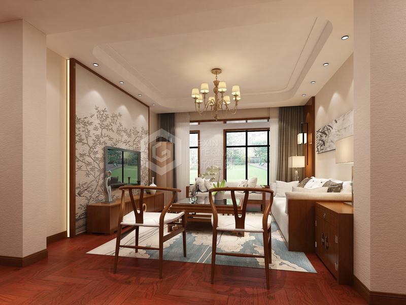高科朗山-客厅设计