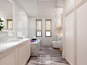 鸿基紫韵-卫生间设计