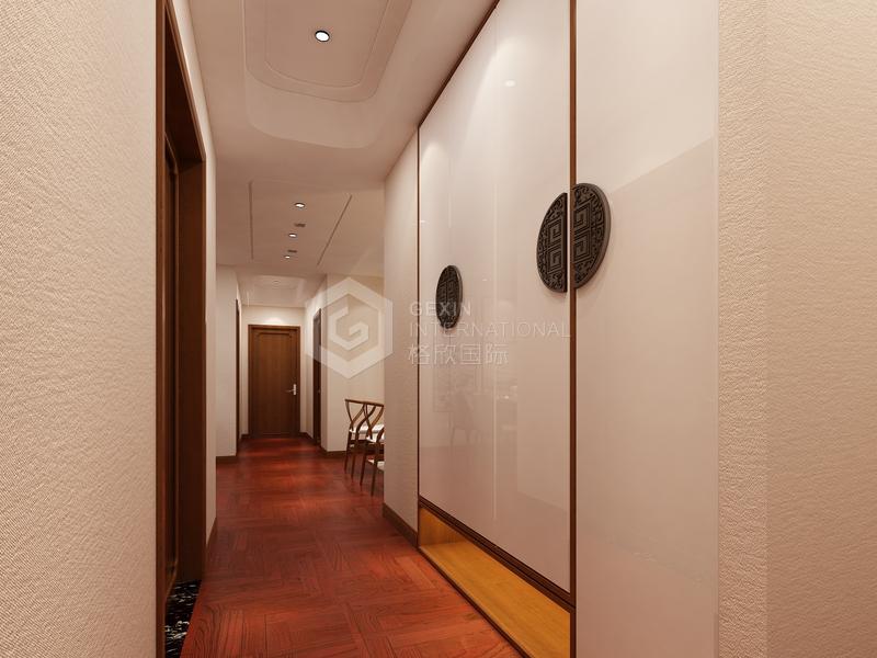 高科朗山-走廊设计