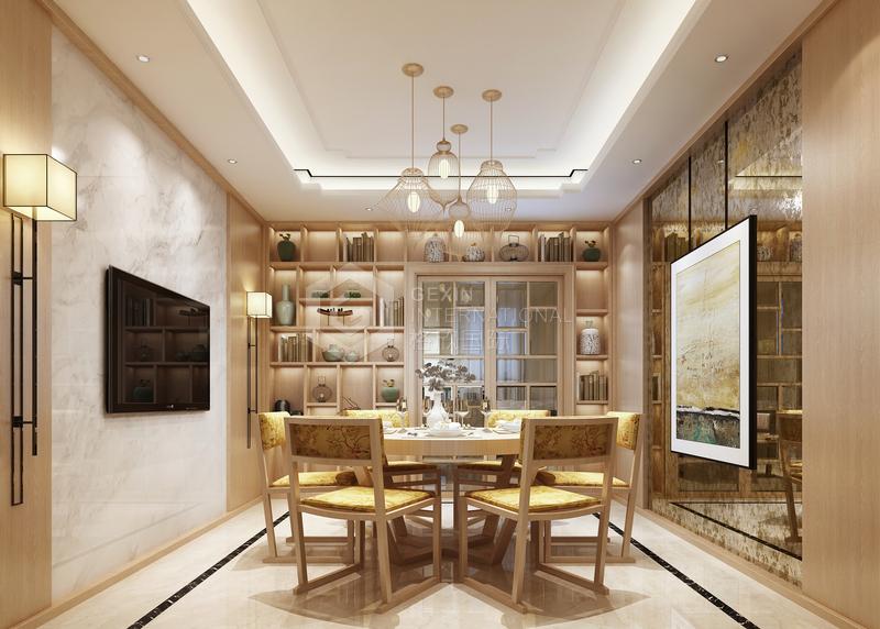 海泊香庭-餐厅设计