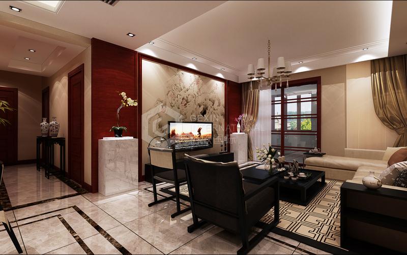 龍湖香醍-客廳設計