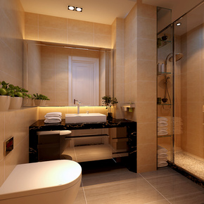 海荣名城-卫生间设计