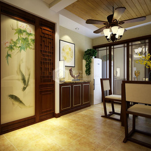 门厅及餐厅